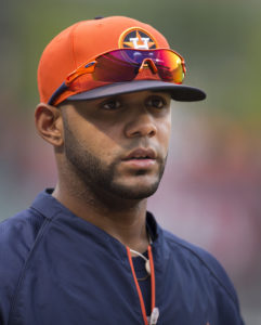 Jonathan Villar in Houston, before being traded to the Brewers